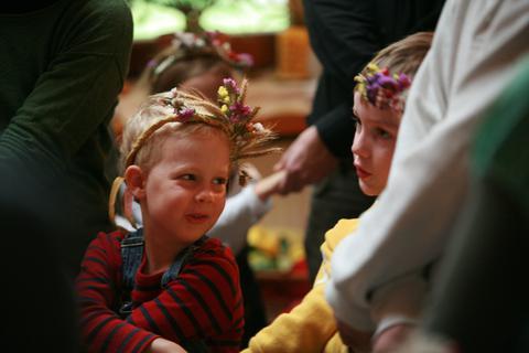 Erntedankfest Waldorfkindergarten