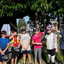Fahrrad-Staffel der Rudolf Steiner-Schule Salzburg