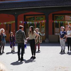 Übergabe des Staffelholzes an die Rudolf Steiner Landschule Schönau