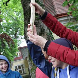 Übergabe des Staffelholzes in Wien-Mauer