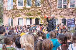 Staffelübergabe Waldorfschule Graz