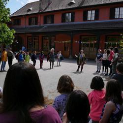 Staffelübergabe Rudolf Steiner Landschule Schönau