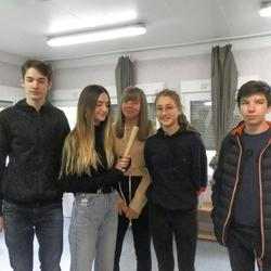 Übergabe des Staffelholzes in der Waldorfschule Pannoia