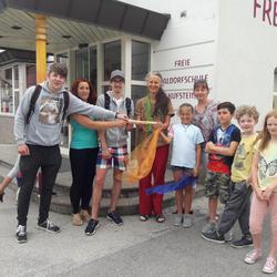 Übergabe des Staffelholzes an die Freie Waldorfschule Kufstein