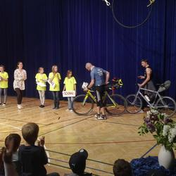 Übergabe des Staffelholzes an die Freie Waldorfschule Linz